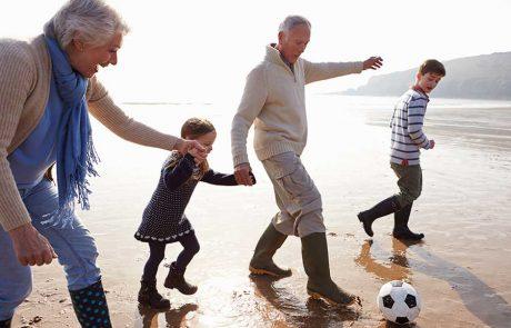 טיפוח ושמירה על מערכת היחסים בין הסבא והסבתא לבין נכדיהם גם בעת גירושין