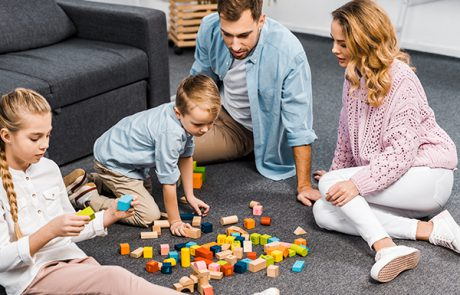 למה חשוב שהורים וילדים ישחקו יחד