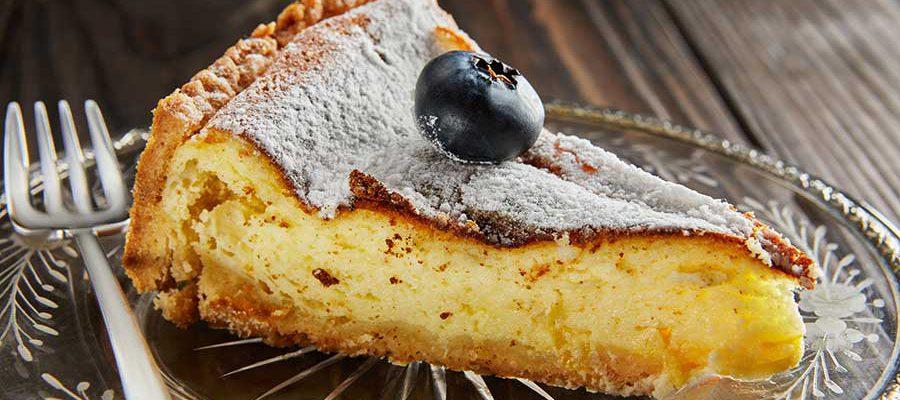 משולש עוגת גבינה