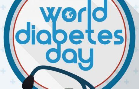 יום 14 בנובמבר 2019 הוא יום המודעות לסוכרת הבינלאומי.