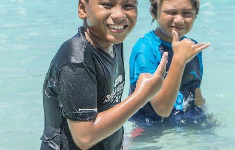 טיפול בים המלח לילדים המתמודדים עם פסוריאזיס במסגרת קייטנת ריפוי בחופש הגדול