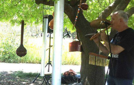 חנוכה בפארק אריאל שרון