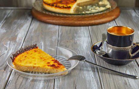 עוגת גבינת ריקוטה וקלמנטינות