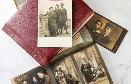 האלבומים של סבתא שלי חפצים ישנים או זיכרון לדורות הבאים?