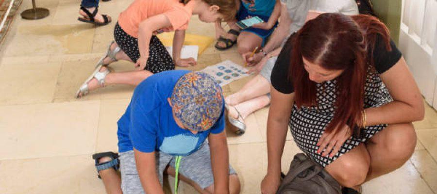 ילדים בפעילות במכון ויצמן